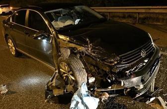Sincan Belediyesi'nin AK Partli Meclis üyesi trafik kazası geçirdi