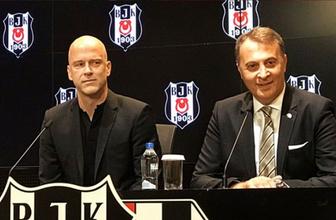 Beşiktaş altyapısını Fabian Ernst emanet etti