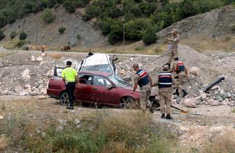 Tokat'ta cenaze yolunda feci kaza! Ölü ve yaralılar var