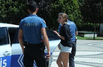 İstanbul Maçka Parkı'nda genç kadına kapkaç şoku
