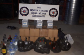 Adana'da sahte içkiye yönelik operasyonlar devam ediyor!