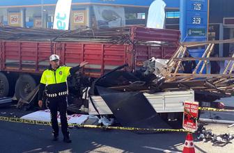 Ankara'da TIR'ın altına giren kamyonet sürücüsü feci şekilde can verdi!