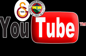 Ezeli rekabet Youtube'da! Galatasaray harekete geçti