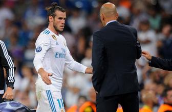 Zidane Gareth Bale'in ayrılığını duyurdu