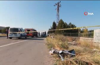 Edirne'de feci kaza : Otomobil duvara çarptı: 4 ölü, 2 yaralı