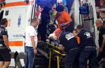 Dinamo Bükreş'in hocası kulübede kalp krizi geçirdi yürekler ağza geldi