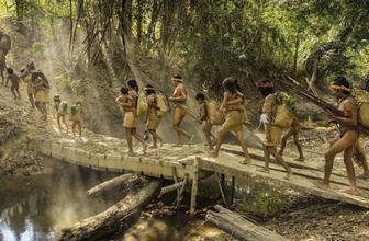 Amazon ormanlarında ilkel Awa Kabilesi üyelerinin yeni görüntüleri ortaya çıktı