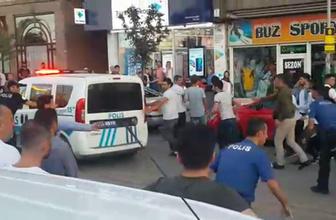 Erzurum'da yan bakma kavgası 1 yaralı