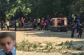 Düzce'deki sel felaketinde kaybolan Kağan'ın da cesedi bulundu