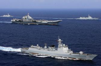 Çin'den ABD ve Tayvan'a askeri tatbikatla yanıt