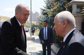 Erdoğan'ın Bahçeli'yi evinde ziyaret etme nedeni ortaya çıktı Abdulkadir Selvi anlattı