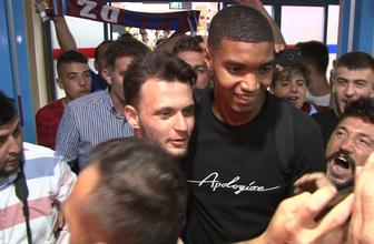Yeni transfer Ivanildo Fernandes, Trabzon'a ayak bastı
