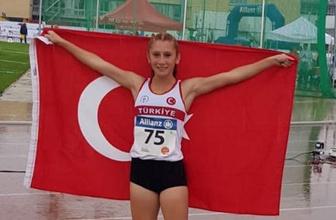 Özel sporcu Muhsine Gezer, 400 metrede dünya şampiyonu