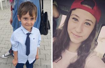 18 yaşındaki teyze ve 5 yaşındaki yeğen kucak kucağa yandı