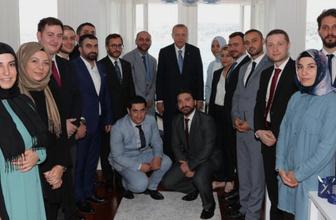 Cumhurbaşkanı Erdoğan'dan Boğaziçi Küresel'e ziyaret
