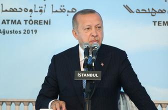 Erdoğan'dan Süryani Ortodoks Kilisesi temel atma töreninde son dakika açıklamalar