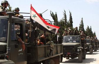Suriye ordusu Türkiye'yi suçlayıp operasyonları yeniden başlattı