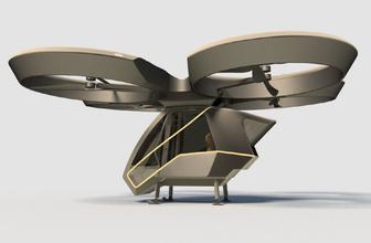 Milli uçan arabanın prototipi çıktı Selçuk Bayraktar fotoğraflarını paylaştı