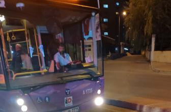 İstanbul'da özel halk şöförünün yolcuya söylediği sözler şaşırttı