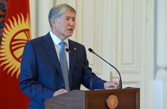Eski Kırgızistan Cumhurbaşkanı Atambayev'in evine polis operasyonu