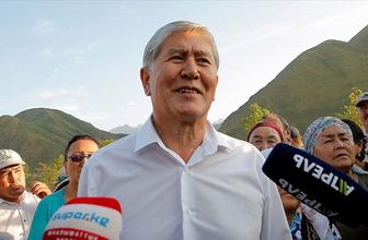 Kırgızistan eski Cumhurbaşkanı Almazbek Atambayev gözaltına alındı