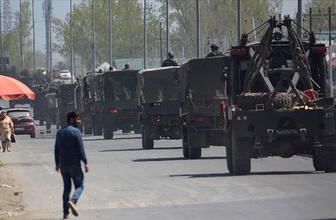 Cammu Keşmir'de son dakika gelişmeler var 500 kişi gözaltında