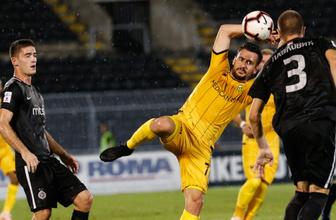 Partizan'a yenilen Yeni Malatya tur şansını zora soktu