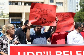 Diyarbakır Belediyesi'nde neler oluyor? Protestolar var