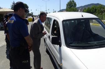 Balıkesir'de 4 saatte sürücülere rekor ceza kesildi