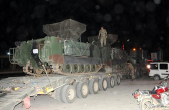 Suriye sınırına askeri sevkiyat! Hareketlilik göze çarptı
