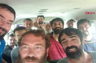 Nijerya'da kaçırılan Türk denizciler bayram sabahı Türkiye'de olacak