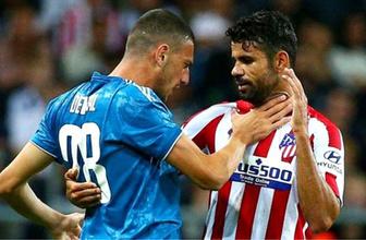 Merih Demiral ile Diego Costa gerginliği geceye damga vurdu