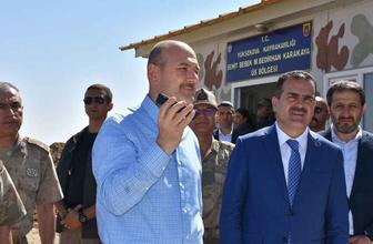 Erdoğan Yüksekova Üs Bölgesi'ndeki askerlerin Kurban Bayramı'nı tebrik etti