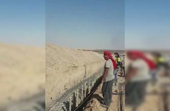 PKK'lı teröristlerin tünel ve siper kazıları devam ediyor