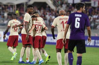 Galatasaray hazırlık maçında Fiorentina'ya yenildi