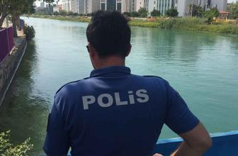 Adana'da kuzenini kurtarmak isteyen çocuk akıntıya kapıldı