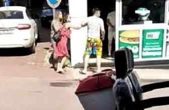 Sinop'ta genç kız tartıştığı erkek arkadaşına kafa attı