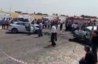 Diyarbakır-Bingöl karayolunda kaza:  4 ölü 8 yaralı