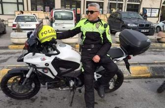 Sancaktepe'de motosikletli trafik polisi şehit oldu