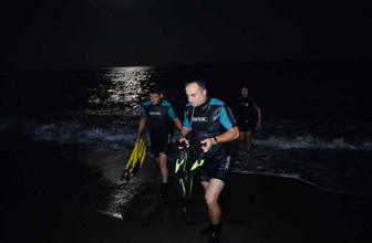 Baba ile oğlu denizde boğuldu
