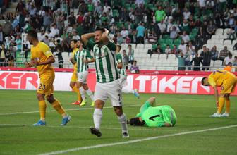 Konyaspor ile Ankaragücü yenişemedi
