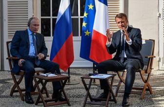 Putin ile Macron bir arada: İdlib'de ateşkesin sağlanması gerekiyor