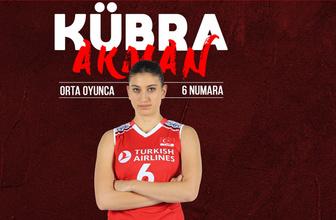 """Kübra Akman:  """"Avrupa Şampiyonası'nda finale kadar gitmek istiyoruz"""""""