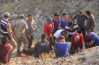 Elazığ'da mağarada mahsur kalan TV ekibine ulaşıldı