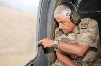 Jandarma Genel Komutanı Arif Çetin: Dağlar teröristlerden tamamen temizlenmiş durumda