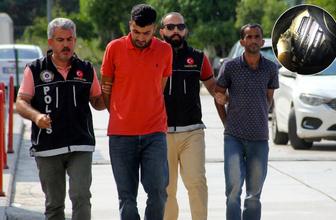Adana'da torbacının torbasından adeta cephanelik çıktı