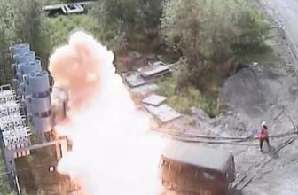Rusya'da elektrik teknisyeni kapıldığı 6 bin volt akımdan yaralı kurtuldu