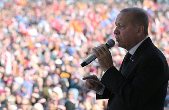 Erdoğan Trabzon'dan seslendi! Şehitlerimizin kanı yerde kalmayacak