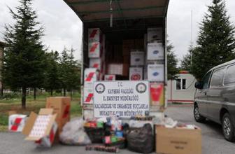 Kayseri'de 16 milyon sigara makaronu ele geçirildi