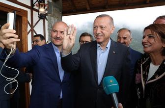 Cumhurbaşkanı Erdoğan oğlunu terörden kurtaran anne ile görüştü